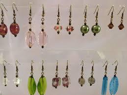 beginner earrings beginner earrings make 2 pairs saturday 3rd feb 2018