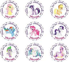 my pony cupcake toppers 212 best pony images on pony birthday party ideas and