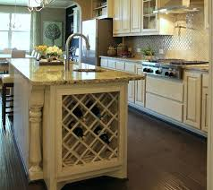 wine rack brilliant center islands for kitchens with wine rack