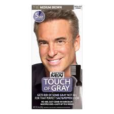 Color For Gray Hair Enhancing Amazon Com Just For Men Touch Of Gray Mustache And Beard Color