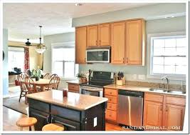 kitchen wall colors maple cabinets color ideas with paint