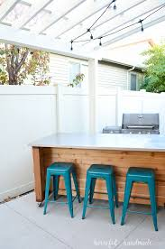 outdoor kitchen island build plans a houseful of handmade