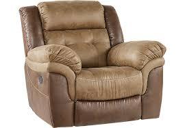 montiglio brown glider recliner recliners brown