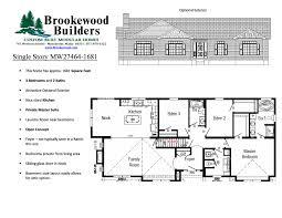 100 hillside walkout basement house plans 100 house plans