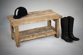 furniture small rustic wood entryway bench with storage nice