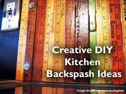 Diy Kitchen Backsplash Make It Mosaic Diy Kitchen Backsplash - Creative backsplash