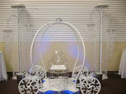 cake stand rental cinderella carriage rental for wedding quinceaneras cake stand