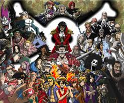 one piece one piece characters look very very familiar