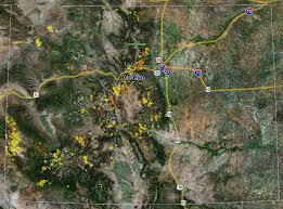 Colorado Maps by Colorado Gold Maps Gold Claims