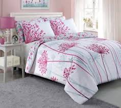 Uk Bedding Sets Pink Meadow Floral Pieridae Luxury Duvet Cover Quilt Reversible