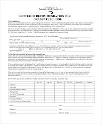 sample recommendation letter 10 free documents in word pdf
