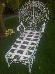 Antique Wrought Iron Patio Furniture by Wrought Iron Patio Garden Conservatory Furniture Suite 60s Retro