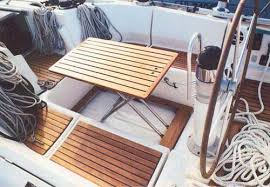 boat tables for cockpit boat furniture foldaway cockpit table floor casa mare trying to