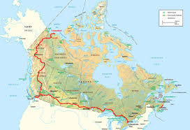 road map canada road maps canada major tourist attractions maps