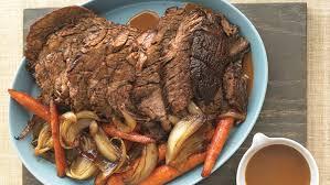 Balsamic Roast Beef In Oven Slow Cooker Pot Roast