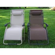 Outdoor Reclining Chaise Lounge Zero Gravity Extra Wide Recliner Lounge Chair Free Shipping