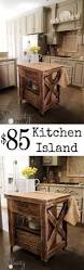 kitchen island inspired by pottery barn diy kitchen island