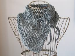 balls to the walls knits tie closure lace trellis cowl