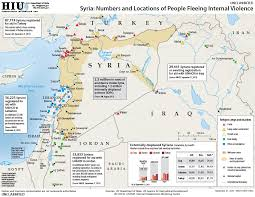 Maps Syria by Syrian Refugee Camps In Turkey And Jordan Satellite Photos