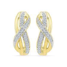 daily wear diamond earrings everyday wear diamond earrings in 14k 18k gold radiant bay