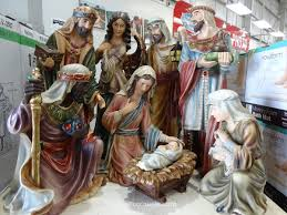 Outdoor Lighted Nativity Sets For Sale Decorating 9 Piece Nativity Sets Costco 1 For Chic Cristhmas