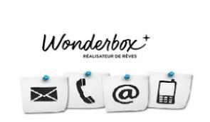 service client wonderbox téléphone et adresse postale