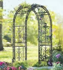 wedding arches on ebay garden metal green arch arbor vintage 7 25ft pathway trellis