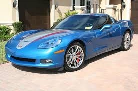 2008 corvette coupe ls3 495hp jetstream blue metallic for sale