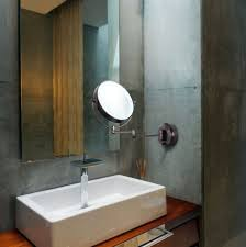 bathroom makeup mirror wall mount design cordless lighted makeup mirror allowing you to move it