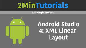 android studio tutorials in 2 minutes 4 linear layout youtube