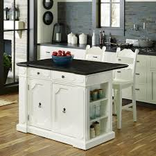 White Kitchen Island With Stools by Possum Belly Grey And White Kitchen Island With Drawer Tn 891636