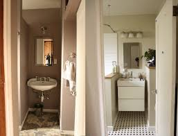 How To Remodel A Small Bathroom Before And After Small Bathroom Before And After