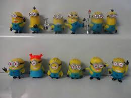 minions cake toppers minions cake toppers 12 plastic figures brand new free p p ebay