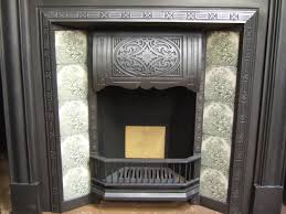 a tin tile fireplace surround fire place and pits