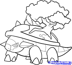7 how to draw torterra torterra