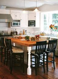 Island Table Kitchen Kitchen With Wooden Island Table Oversized Kitchen Islands Are
