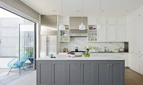 pics of kitchens with white cabinets and gray walls classic and trendy 45 gray and white kitchen ideas