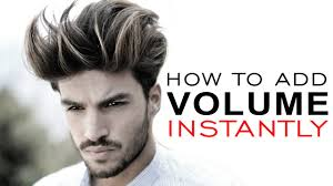 put your on a haircut how to add volume to your hair men s hairstyle tutorial alex