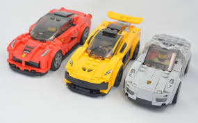 lego speed champions ferrari hybrid supercars from speed champions lego