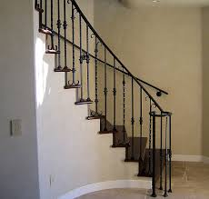 Wrought Iron Banister Wrought Iron Deck Stair Railing Wrought Iron Stair Railing