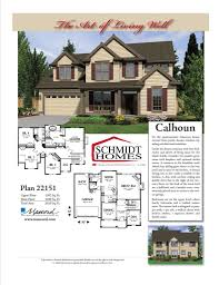 two story homes schmidt homes