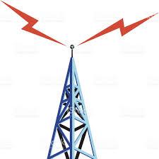 Radio Tower For Internet Radio Tower Stock Vector Art 181992125 Istock