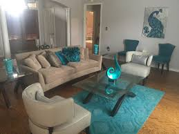 home good decor turquoise teal peacock contemporary modern living room haverty u0027s