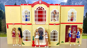 high high school house disney high school musical 3 senior year doll house unboxing باربي
