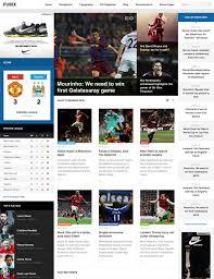 ja fubix responsive joomla template for sports news joomla