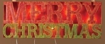 lighted merry christmas yard sign 33 lighted merry christmas outdoor yard art sign christmas central