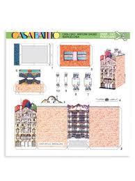 casa batllo floor plan casa batlló cutout postcard puzzles and assembling kits books