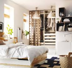minimalist small bedroom decorating ideas offer unique ikea bed