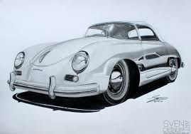 old porsche speedster porsche 356 speedster by sd1 art on deviantart