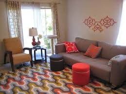 Rugs For Living Room Cheap Living Room Colorful Rugs And Bright For Interior Design Retro